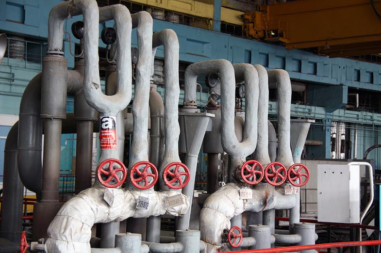 Inside the State District Power Plant in Sredneuralsk 10