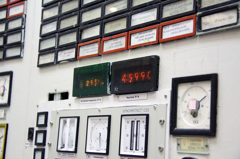 Inside the State District Power Plant in Sredneuralsk 11