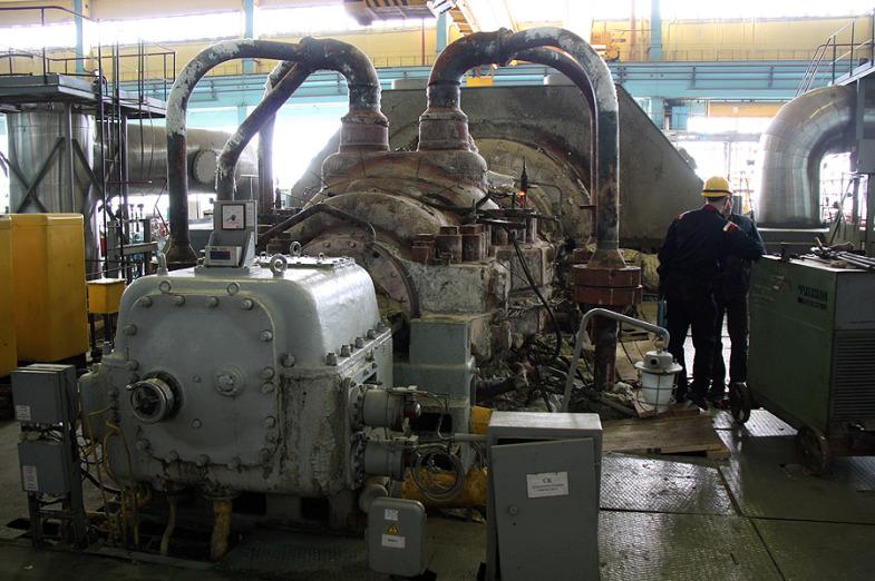 Inside the State District Power Plant in Sredneuralsk 18