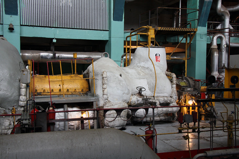 Inside the State District Power Plant in Sredneuralsk 2