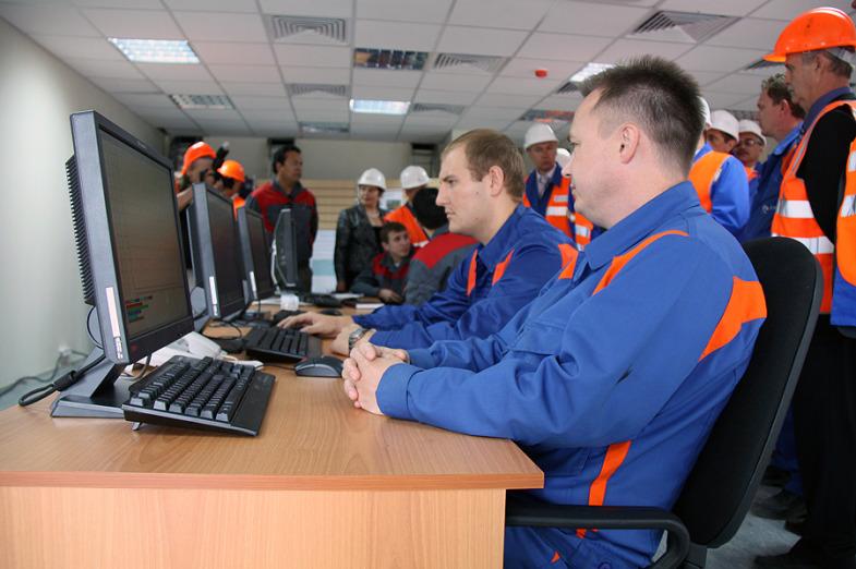 Inside the State District Power Plant in Sredneuralsk 20