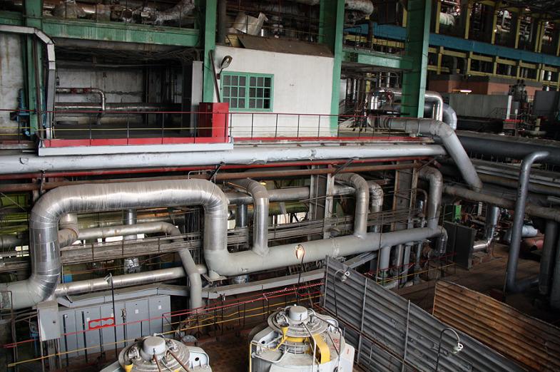 Inside the State District Power Plant in Sredneuralsk 3