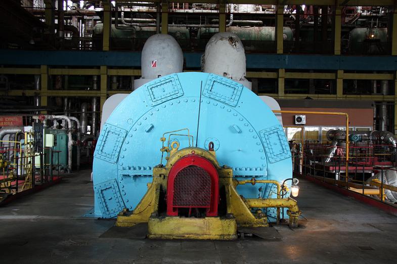 Inside the State District Power Plant in Sredneuralsk 5