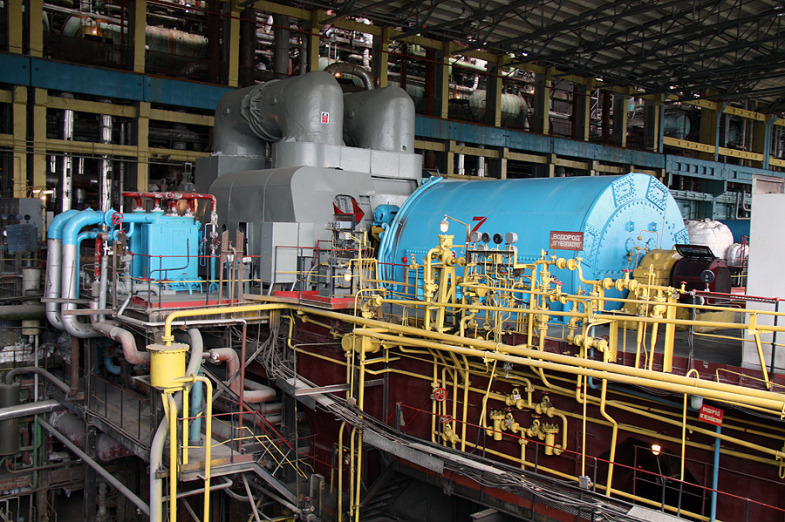 Inside the State District Power Plant in Sredneuralsk 6
