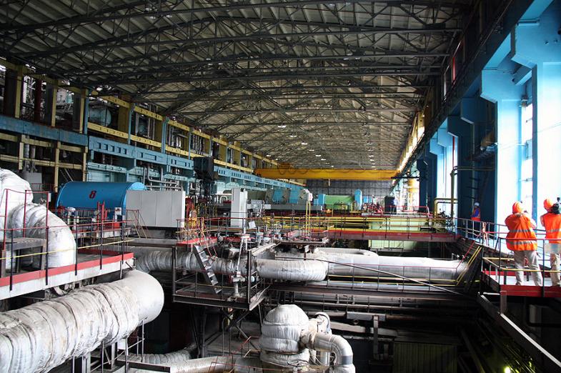 Inside the State District Power Plant in Sredneuralsk 7