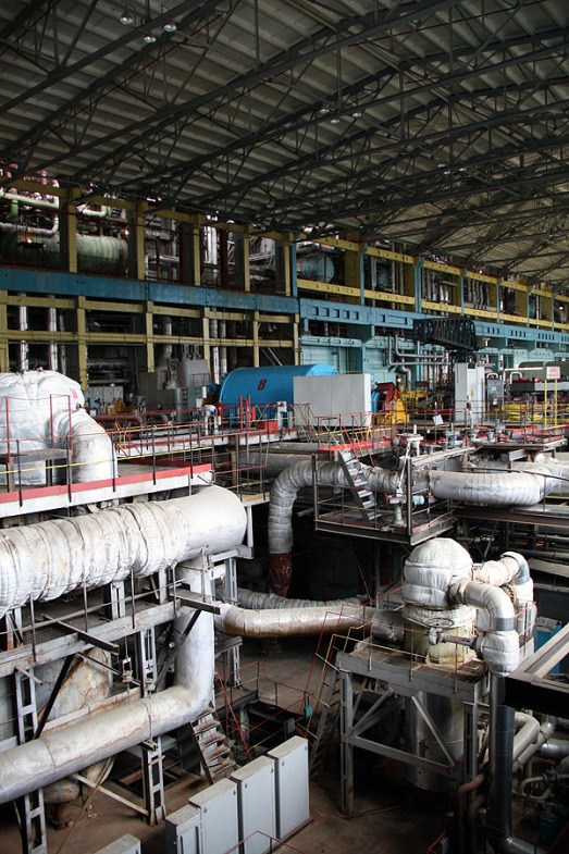 Inside the State District Power Plant in Sredneuralsk 8