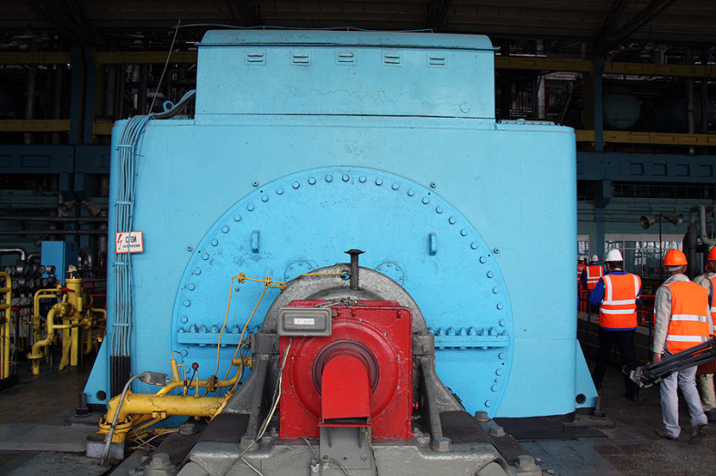 Inside the State District Power Plant in Sredneuralsk 9