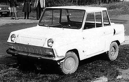 Some history and tunning of soviet car for invalids 2