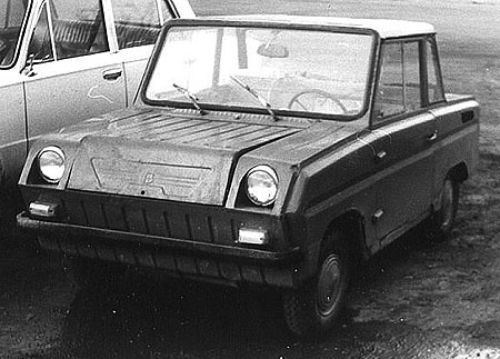 Some history and tunning of soviet car for invalids 3