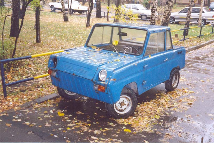 Some history and tunning of soviet car for invalids 4