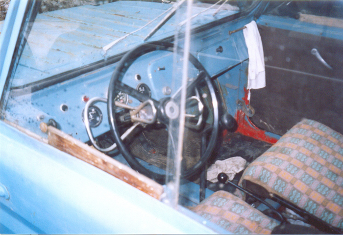 Some history and tunning of soviet car for invalids 5