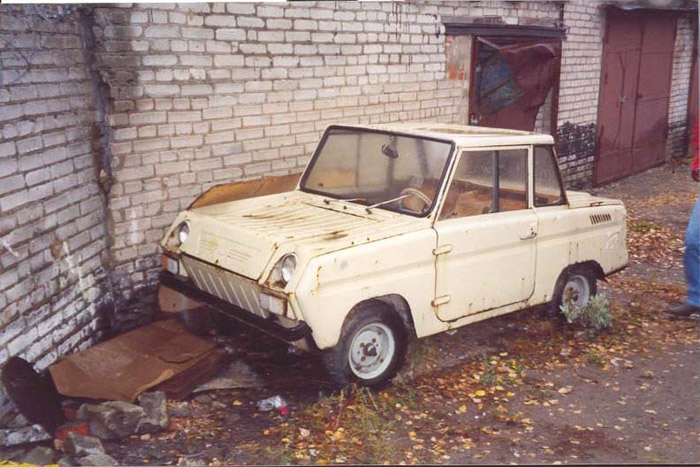 Some history and tunning of soviet car for invalids 6