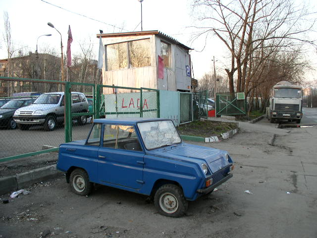 Some history and tunning of soviet car for invalids 7