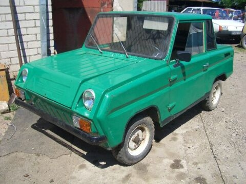 Some history and tunning of soviet car for invalids 8