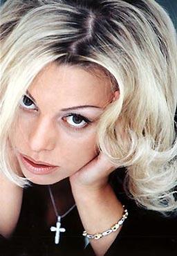 russian pop singer, Irina Saltikova