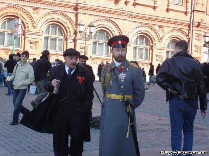 Russian people drink
