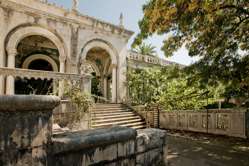 abandoned railway station in Abkhazia, Russia 5