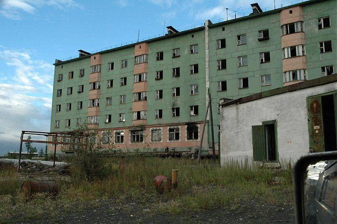 Russian dead town - stays abandoned 4