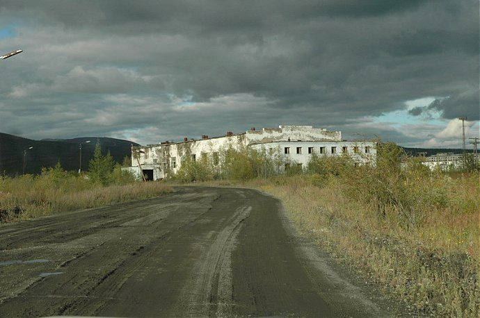 Russian dead town - stays abandoned 24