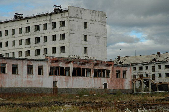 Russian dead town - stays abandoned 27