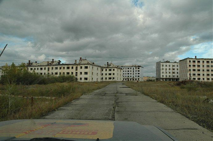 Russian dead town - stays abandoned 29