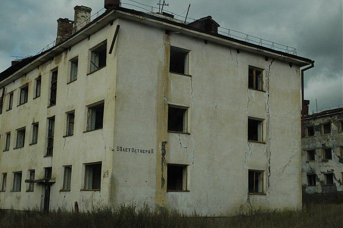Russian dead town - stays abandoned 30