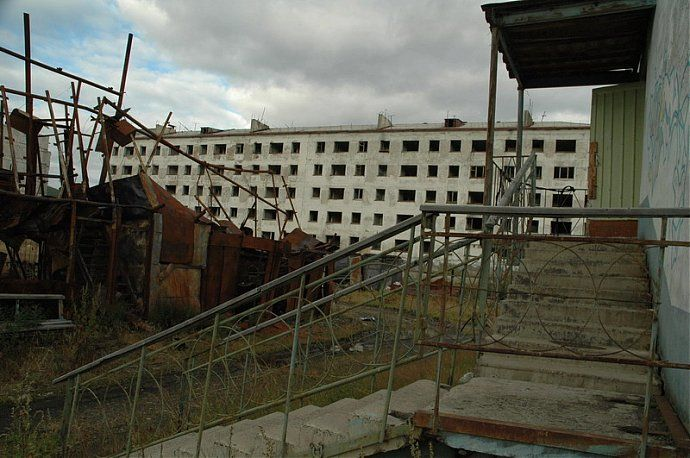 Russian dead town - stays abandoned 39
