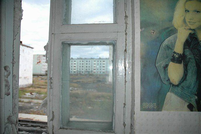 Russian dead town - stays abandoned 45