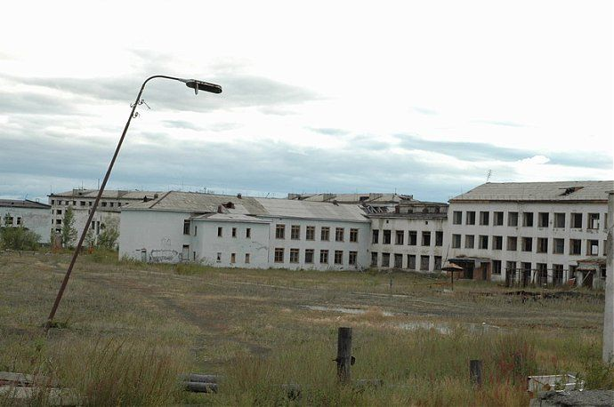 Russian dead town - stays abandoned 52