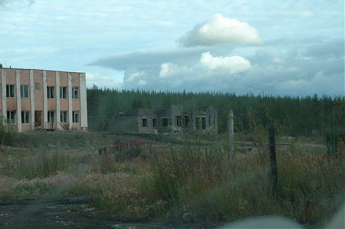 Russian dead town - stays abandoned 67