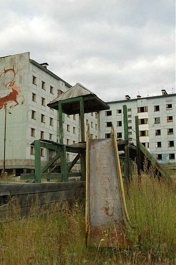 another abandonet Soviet town 1