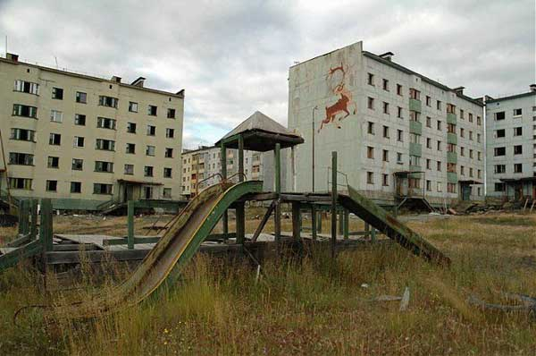 another abandonet Soviet town 25