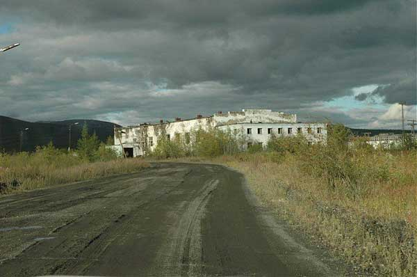 another abandonet Soviet town 3