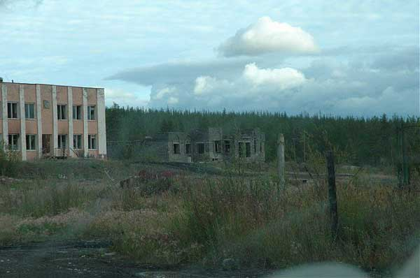 another abandonet Soviet town 34