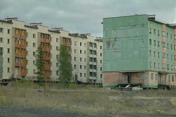 another abandonet Soviet town 35