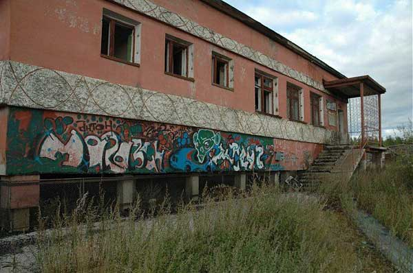 another abandonet Soviet town 36