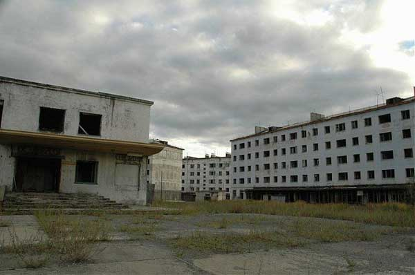 another abandonet Soviet town 45