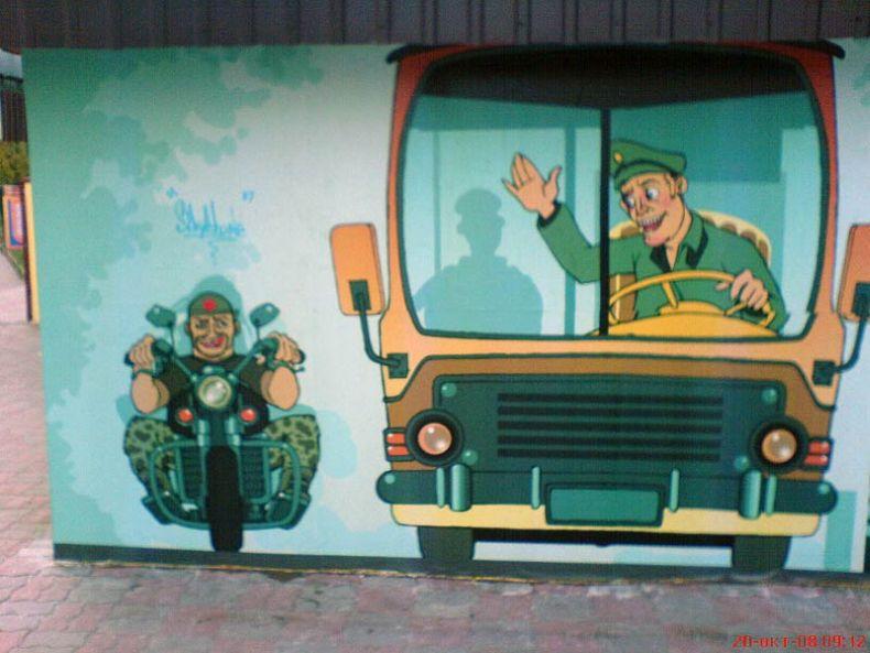 Kiev street Art, Ukraine 4