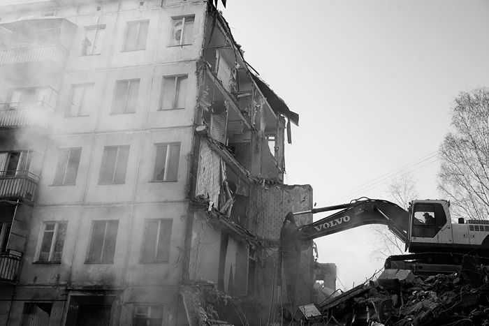 demolition of the houses in Russia 6