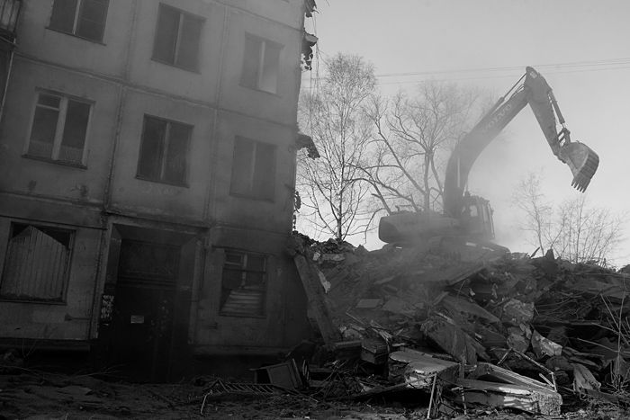 demolition of the houses in Russia 7