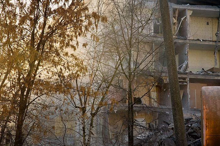 demolition of the houses in Russia 8