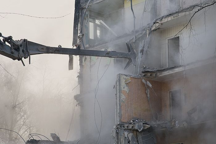 demolition of the houses in Russia 10