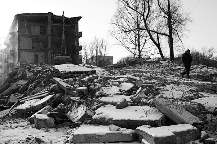 demolition of the houses in Russia 11