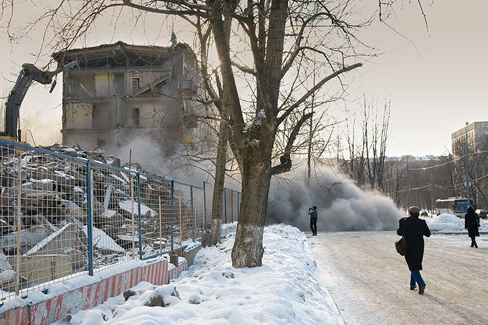 demolition of the houses in Russia 21