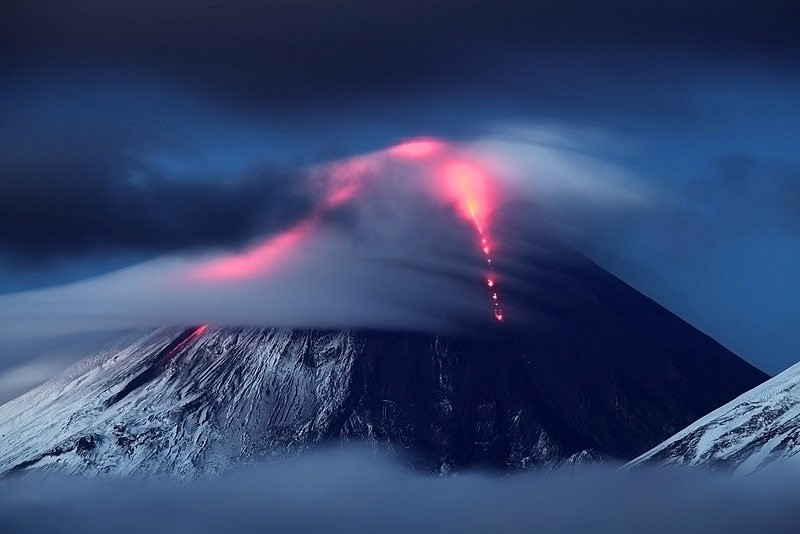 Klyuchevsky Volcano Eruption 1