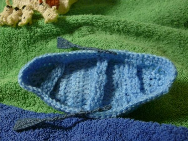 Russian knitted hares 19