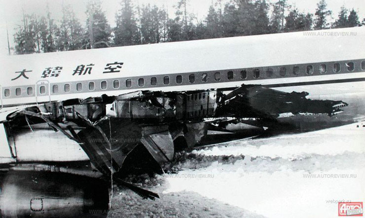 Korean plane in Russia 5