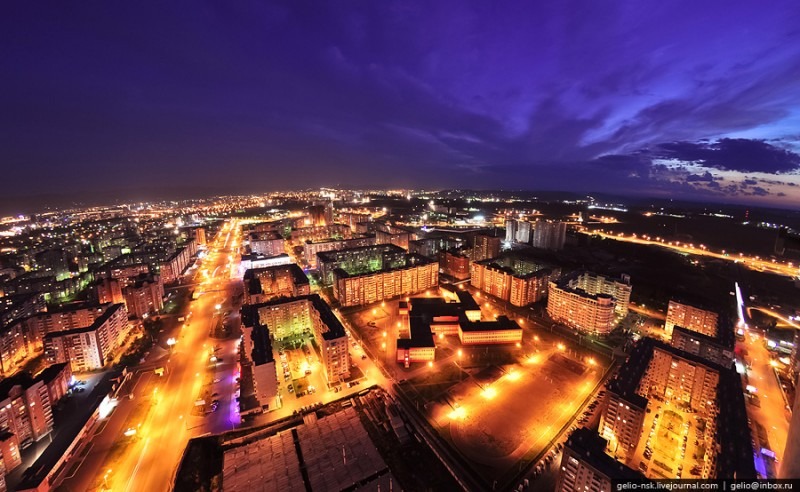 Krasnoyarsk From Above 1