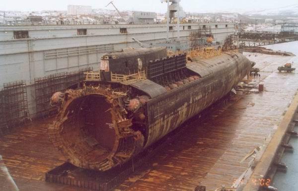 kursk submarine 1