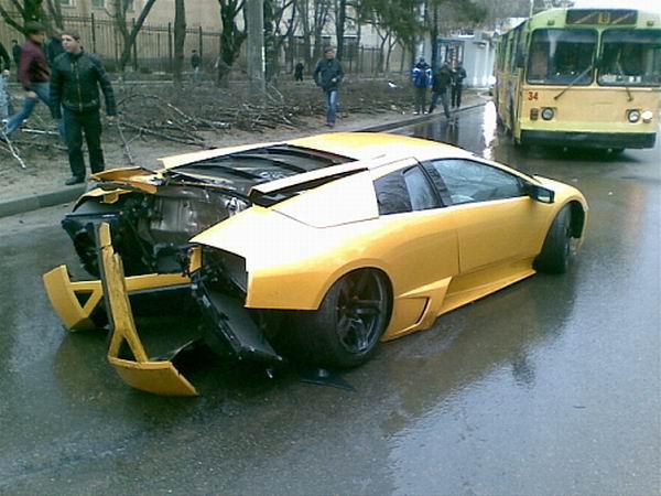 Lamborghini in Russia